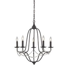 Tavistock 5 Light Candle Chandelier