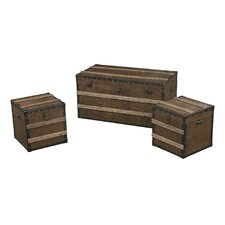 3 Piece Pelican Harbor Storage Trunk Set