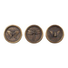 <strong>Sterling Industries</strong> 3 Piece Bug Hanger Wall Décor Set