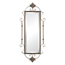 <strong>Sterling Industries</strong> Rectangle Mirror with Scroll Surround