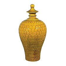 Medium Lidded Decorative Jar