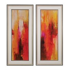 Sweet Karma 2 Piece Framed Painting Print Set
