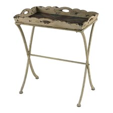 Tray Table with Antique Union Jack Print