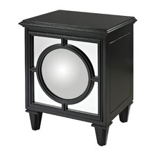 <strong>Sterling Industries</strong> Mirage Cabinet with Convex Mirror