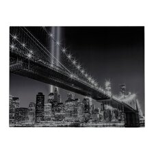 Williamsburg Brige Photographic Print on Canvas