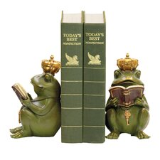 Superior Frog Gatekeeper Book Ends (Set of 2)