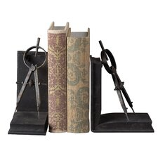 Compass Book Ends (Set of 2)