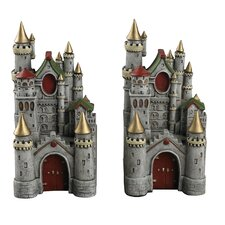 <strong>Sterling Industries</strong> Princess Castle Book Ends (Set of 2)