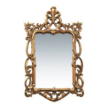 <strong>Sterling Industries</strong> Floral Scroll Mirror