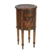 Leopard End Table