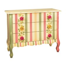 Rose 3 Drawer Accent Chest