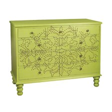 <strong>Sterling Industries</strong> Bradley Medallion 8 Drawer Accent Chest