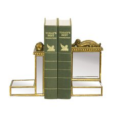 <strong>Sterling Industries</strong> Mirrored Book Ends (Set of 2)