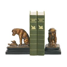 Turtle Under Study Book End (Set of 2)