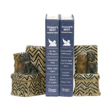 Millionaire Pet Bookends (Set of 2)