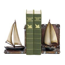 <strong>Sterling Industries</strong> Sailboat Book Ends (Set of 2)