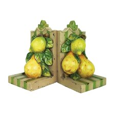 Le Jardin Book End (Set of 2)