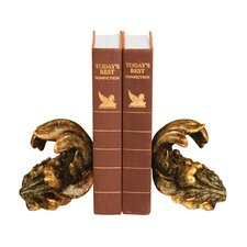<strong>Sterling Industries</strong> Turning Leaf Book Ends (Set of 2)