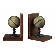Atlas Book Ends (Set of 2)