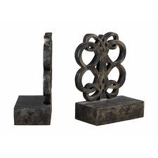 Bookends in Durand Bronze