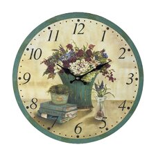 "13"" Bouquet Wall Clock"