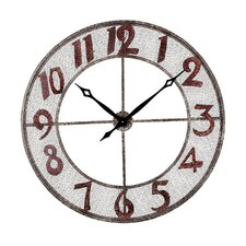 Metal Outdoor Wall Clock