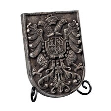 Coat of Arms Plaque Picture Frame