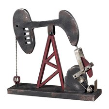 Oil Pump Figurine