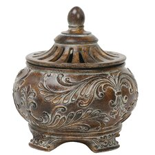 Fortress Lidded Decorative Bowl