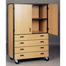 1000 Series Door/Drawer Storage Mobile Cabinet