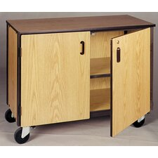 <strong>Ironwood</strong> 4000 Series Low Storage Shelves Mobile Cabinet