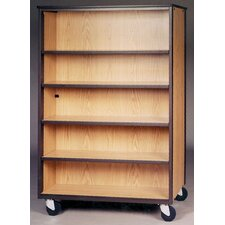 "<strong>Ironwood</strong> Storage Mobile 4000 Series DF 72"" Bookcase"