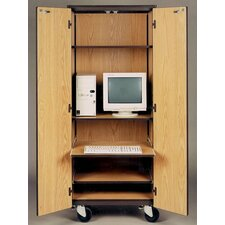 <strong>Ironwood</strong> 4000 Series Computer Center Mobile Cabinet