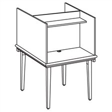Vision Series Back-to-Back Study Carrel