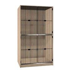 <strong>Ironwood</strong> Solid Grill Door Music Storage: 2 Equal Compartments