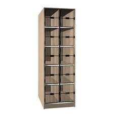 Grill Door Music Storage: 10 Compartments