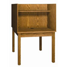 <strong>Ironwood</strong> Library 3000 Wooden Back-to-Back Study Carrel