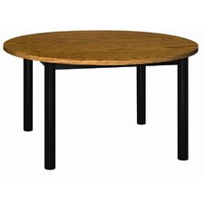 <strong>Ironwood</strong> Round Glacier Library Table