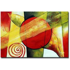 Modern Impressions Contemporary Original Painting on Canvas