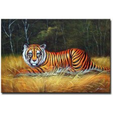 Snow Tiger Original Painting on Canvas