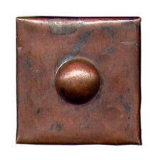 "Grommet 2"" x 2"" Copper Border Tile in Dark Copper"