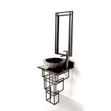 """Iron Mission 22"""" Single Bathroom Vanity Set"""