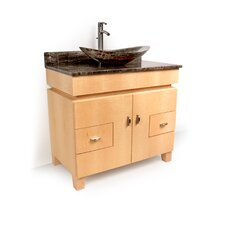 "<strong>D'Vontz</strong> MDV Modular Cabinetry 36"" Footed Bathroom Vanity Base"