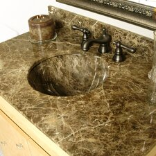 Round Undermount Bathroom Sink
