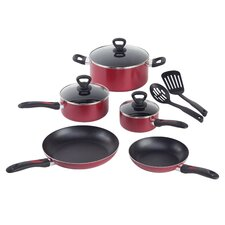 <strong>Mirro</strong> Get-A-Grip Aluminum 10-Piece Cookware Set