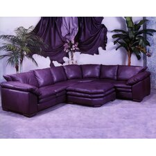 <strong>Omnia Furniture</strong> Fargo Leather Sectional