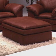 <strong>Omnia Furniture</strong> Encino Leather Cocktail Ottoman