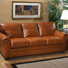 <strong>Omnia Furniture</strong> Georgia Leather Full Sleeper Sofa