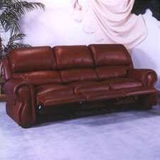 <strong>Omnia Furniture</strong> Cordova Leather Reclining Sofa