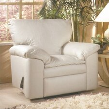 <strong>Omnia Furniture</strong> El Dorado Leather Recliner